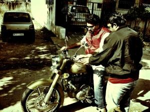 Riding a Bullet