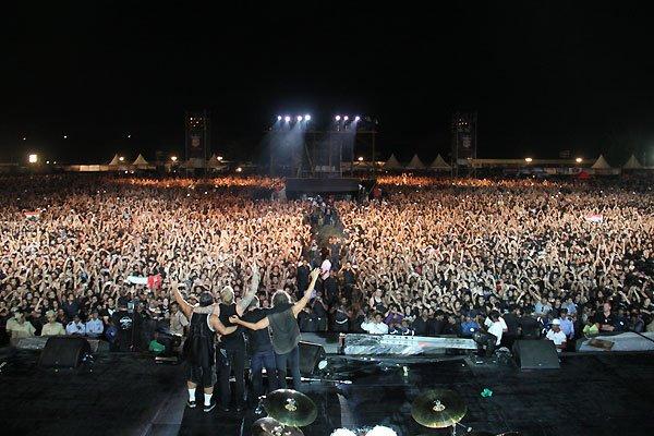 Metallica in Bangalore