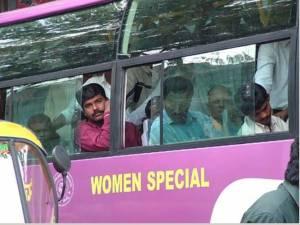 bangalore women special bus