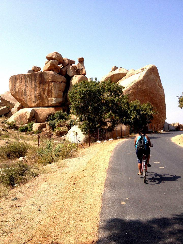 Hampi Cycling Mansi Nikhil Inspiration