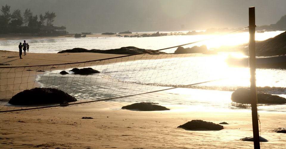 Gokarna Om Beach Chai Around The World Nikhil Kumar Mansi Pal